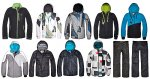Snowboard, kolekcja ubrań sportowych CROPP