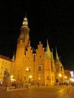 wieczór we Wrocławiu